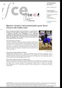 Quatre victoires pour deux écuyers au CDI de Saumur