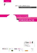 Concours de dressage international (CDI 3*) de Saumur 2019