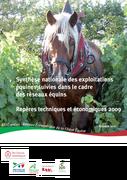 Synthèse nationale des exploitations du réseau équin : repères techniques et économiques 2009