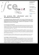 Un meneur Ifce sélectionné pour Kronenberg