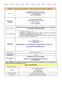 Dpt de la Diffusion - Prestations de traiteur pour équi-meeting maréchalerie (24/06/2019)