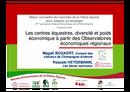 Les centres équestres : diversité et poids économique à partir des Observatoires Economiques Régionaux