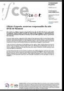 Olivier Legouis, nouveau responsable du site IFCE de Saumur