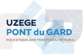 Logo de Uzege Pont du Gard, Pôle d'équilibre territorial et rural.