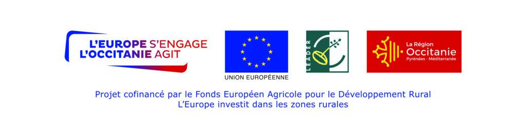 Logo du projet cofinancé par le Fonds Européen Agricole pour le Développement Rural. L'Europe investit dans les zones rurales.