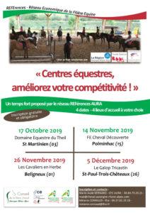 Journées REFErences 2019 Auvergne-Rhone-Alpes