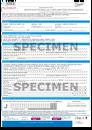 Certificat de saillie Sang