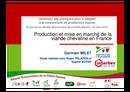 Production et mise en marché de la viande chevaline en France