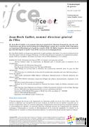 Jean-Roch Gaillet, nommé Directeur Général de l'IFCE