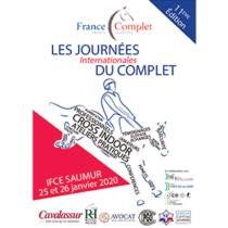 Affiche journées du complet 2020, les 25 et 26 janvier à Saumur