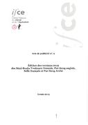 Direction du SIRE - Edition des versions 2019 des Stud-Books Trotteurs français, Pur-Sang anglais, Selle français et Pur-Sang arabe 04/04/2019