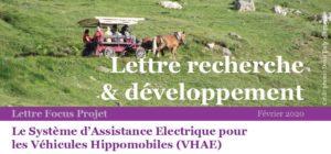 DIR - Lettre R&D VHAE