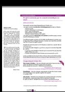 Lettre Recherche Développement Avril 2020