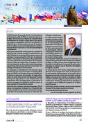 Newsletter internationale - Printemps 2020