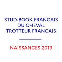 Vignette stud-book du cheval trotteur français naissances 2019