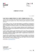 Alain Tisseuil, nommé Président du conseil d