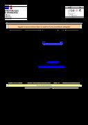 Dir. des connaissances - Fourniture de couvertures en PVC Opaque et cristal (29/09/2020)