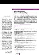 Lettre Recherche et Développement octobre 2020 - Renouvellement du CS